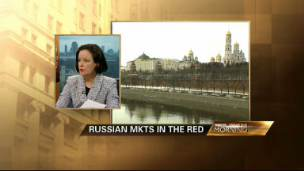 Russian Markets in the Red