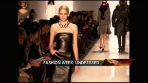 Fashion Week Tries On Recession