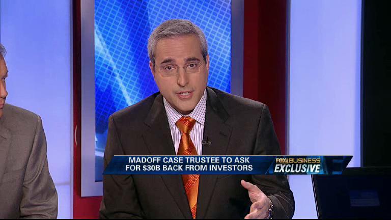Exclusive: Madoff Trustee Seeks Clawback