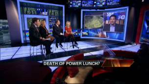 Is the Power Lunch Era Over?