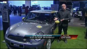 BMW Exec on MINIs Showcased at Auto Show