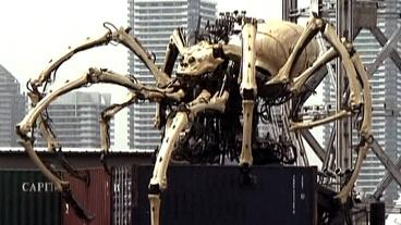 Giant Spider Robot