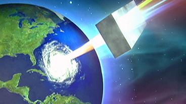 Space-Based Hurricane Killer?