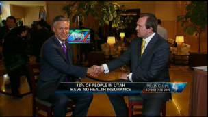 Utah Governor Talks Job Growth