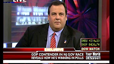 Garden State Governor Race