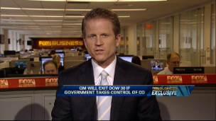 GM May Exit DJIA