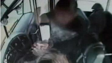 Brutal Bus Attack