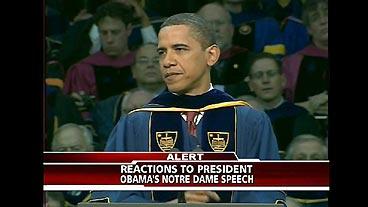 Obama Addresses Abortion in ND Speech