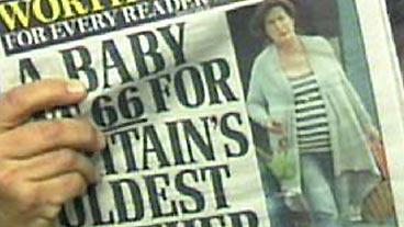 Britain's Oldest Mom