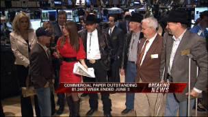 Belmont Stakes Jockey Visits NYSE