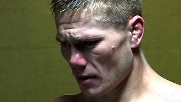 Strikeforce: Joe Riggs Gets Emotional