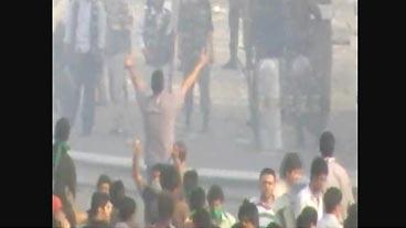 Police v. Protesters