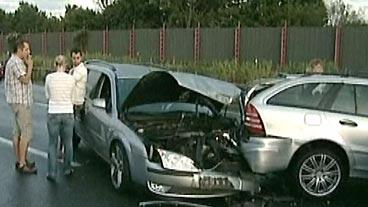 Autobahn Accident