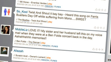 'Twitter' for Music Lovers