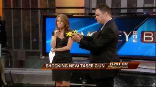 Taser Chairman Demonstrates New Gun