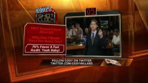 Cody's Shot Clock: Audit the Fed!