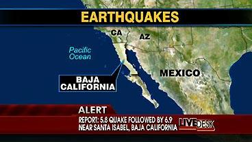 Baja Quakes
