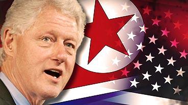 Clinton in North Korea