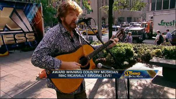 McAnally Performs 'Blame it on New Orleans'