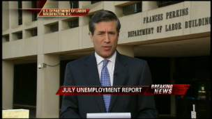 Unemployment Rate Falls to 9.4% in July