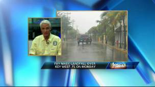 Tropical Storm Fay Hits Florida
