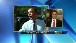 Obama's V.P. Speculation