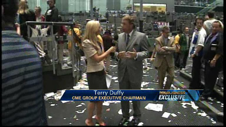 CME Chief on CME, NYMEX Merger