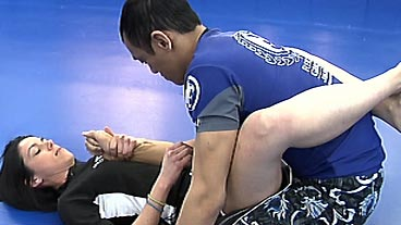 MMA Training With Dani