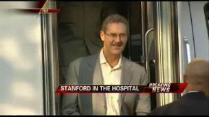 Stanford Hospitalized, Hearing Delayed