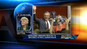 Geraldine Ferraro on Palin
