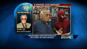 Stan Lee on Disney-Marvel Deal