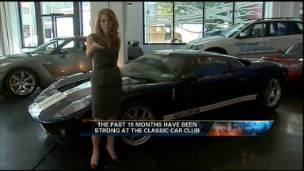 FBN's Jenna Lee checks out some featured cars at the Classic Car Club of Manhattan.