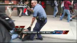 Facing Protestors at the RNC
