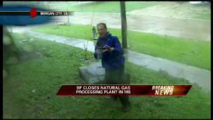 The Worst of Hurricane Gustav