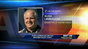 Rush Limbaugh on Gov. Palin