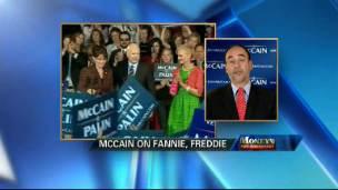 McCain on Fannie & Freddie