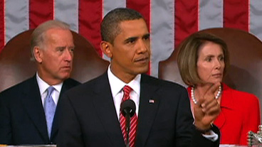 Obama Heckled During Address to Congress