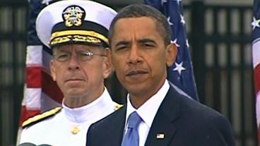 Obama Speaks at 9/11 Memorial