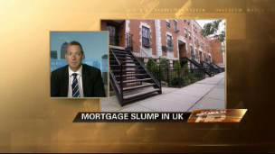 Mortgage Slump in U.K.