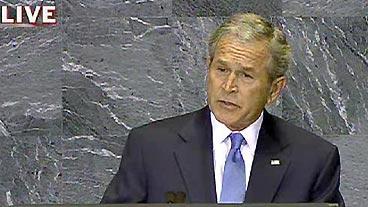 Bush at United Nations