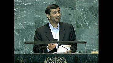 Ahmadinejad Speaks