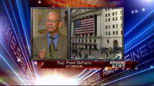 Rep. DeFazio: Who's Gonna Pay For Bailout?