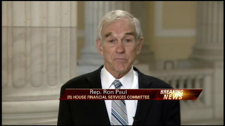 Ron Paul on Banking Rescue Plan