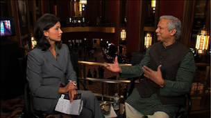 Yunus on Credit Markets