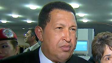 Chavez Post-Speech Rant