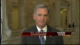 Sen. Gregg On Mortgage Aspect of Bailout