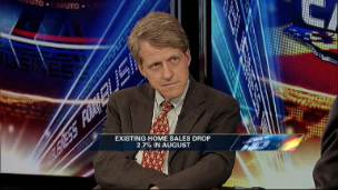 Shiller on Housing Slowdown