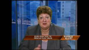 Euro Reaction to Rescue Plan Talks