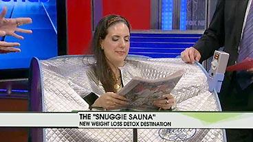 Snuggie Sauna