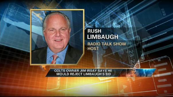 NFL Resistant to Rush Limbaugh Rams Bid